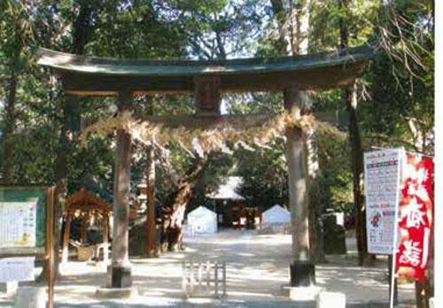 中山神社(中氷川神社)