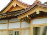 武蔵第六天神社の新しい拝殿
