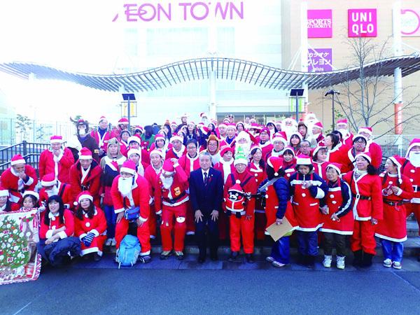 釜石市長と100人のサンタ
