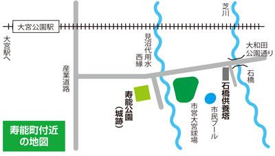 寿能町付近 の地図