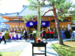 願生寺本堂、 落慶式