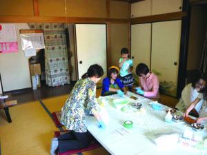 岩槻 端午の節句イベント 和菓子作り体験