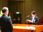 市民会館いわつき 東武医学技術専門学校「第49回入学式」