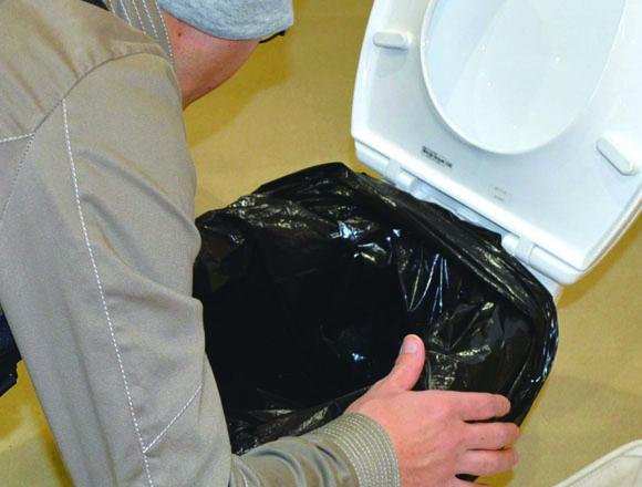 防災 携帯トイレ