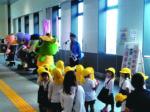 岩槻駅舎で特殊詐欺被害 交通事故防止キャンペーン
