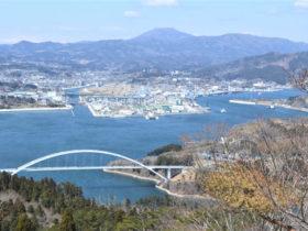 気仙沼大島 亀山からの絶景