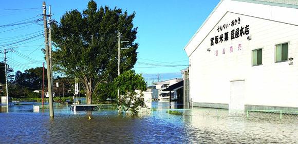 猛威をふるった台風19号 利根川決壊の危機だった | ウェブらうんじ ...