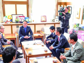 大野埼玉県知事への要望書提出