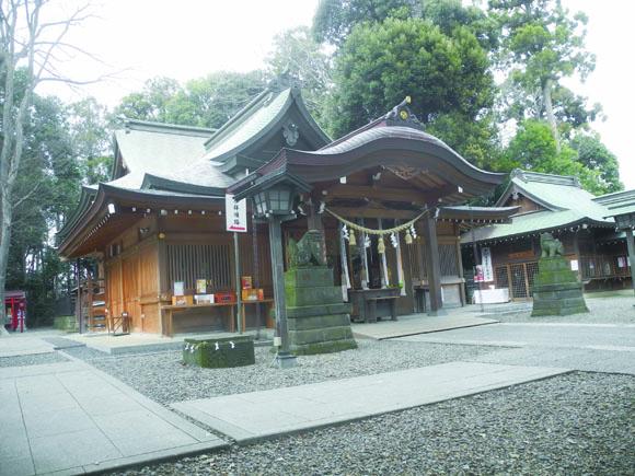 総鎮守久伊豆神社